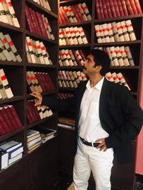 Actor Rohit Pathak As Lawyer In Director Teja's Next