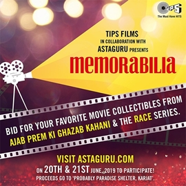 LIVE NOW – TIPS FILMS IN COLLABORATION WITH ASTAGURU PRESENTS MEMORABILIA