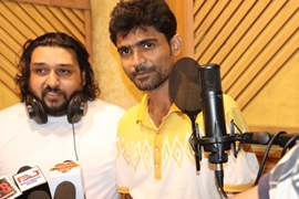 Song Of The Beqaraar Dil Album Recorded in Dilip Sen Studio In Shabab Sabari's Voice