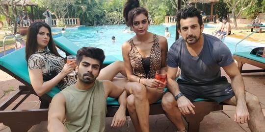 Akaash Choudhary – Zara Siddqiue  Starrer PASS AANE DE Already Raising Temperatures
