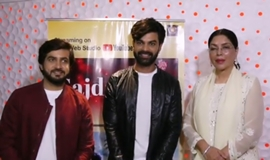 Actress Zeenat Aman Launches Yuvraaj Parashar Devotional Single – Atharva