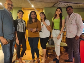 Writer Director Alok Shrivastava's  Film Miss Masala Dosa First Song Recorded In Mumbai