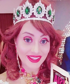 Heartiest Congratulations to Angel Tetarbe Popular Queen of Universe