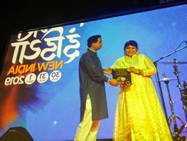 DR SOMA GHOSH  PADMA SHREE  VOCALIST- BENARAS GHARANA IS THE MOST TALENTED SINGER OF THE TIME