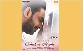 Teaser Out –  Singer Arun Singh First Single Chhukar Mujhe
