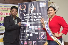 Celerity India 2020 Miss-Mr-Mrs Press Meet With Sonali Arora