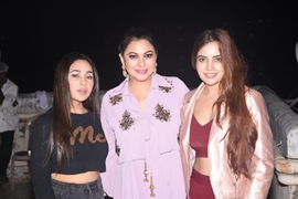 Gurpreet Kaur Chadha  Celebrated Lohri 2020 with family And friends