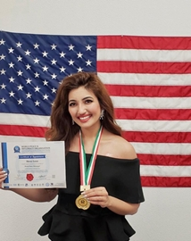 Miss World America Washington Shree Saini gets World Peace Messenger Award in Los Angels