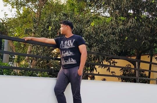 Playback Singer Hrishikesh Chury Plants 200 Plus Saplings Amid Lockdown