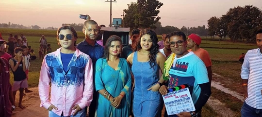 Shooting In Progress Of  Film Dildar Se Dil Lagal  In Gorakhpur