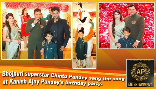 Kanish Pandey Grand Birthday Celebration With Family And Friends in Taj Land