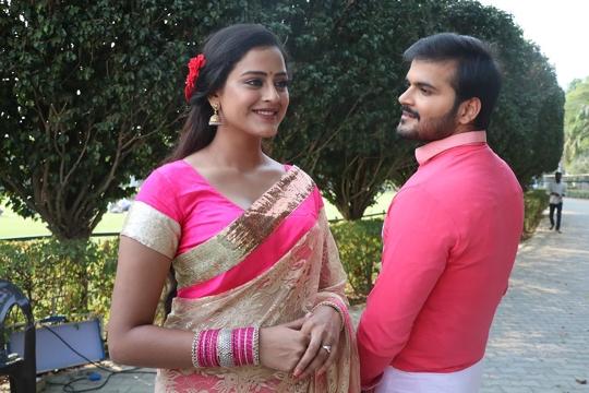 Kallu-Yamini  With Bharat Film Academy Started Bhojpuri Film Pyaar Jab Kehu Se Ho Jaala