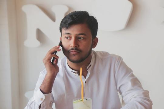 Samar Pratap Suraj Young Enterpreneur Of Dimple Samar Pvt Limited Is To open  Hospital In Himachal Tillu Village Near Naduan