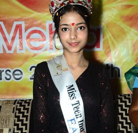 Karishma Mehra Winner Of  Miss Teen India Universe 2020 Earth  A Virtual Edition Presented By Ashwin Rajput