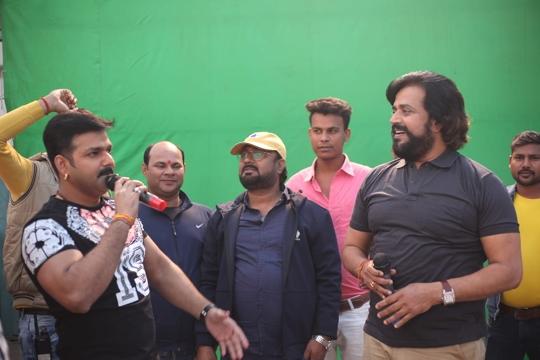 Mera Bharat Mahan Patriotic Film  of Ravi Kishan and Pawan Singh – Post Production Begins