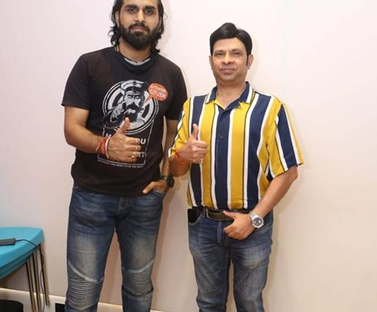 Shantanu -Elina Featured Hindi Song Album  Teri Aashiqui Mein Launched With Song Recording  which was sung by famous Bollywood Singer Aaman Trikha