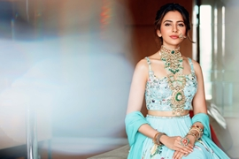 Actress Rakul Preet Singh The New Face Of GLAMOUR India's Largest  Jewellery Exhibition