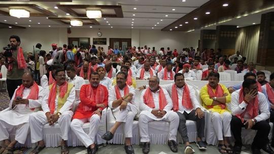 Sanjay Pandey BJP State Secretary Maharashtra The Chief Guest At Kajari Mahosatsav Mumbai
