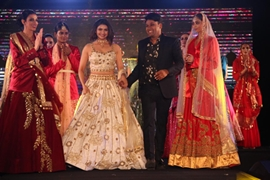 Actress Prachi Desai Walk For Designer Gagan Kumar At Dubai