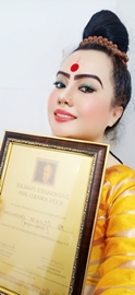 Dr. Atlanta Kaashhyap Honoured With  Best Astrologer Award At Dadasaheb Phalke Icon Award 2019 In Mumbai