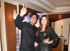 DOUBLE  WHAMMY  Launch of Chalte Chalte Music Poster & Release Of Sajna Ve Sajna Remix Music Video