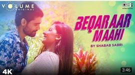 Singer Shabab Sabri's Next is Beqaraar Maahi writing a New Success Story For Actor Qaseem Haider Qaseem & Aarti Saxena