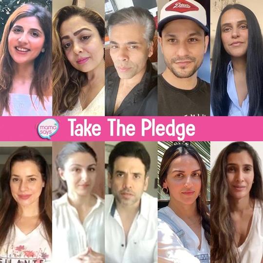 Tusshar Kapoor – Esha Deol – Karan Johar – Neha Dhupia – Soha Ali Khan – Amrita Arora Amongst Others Pledge To Protect The Planet