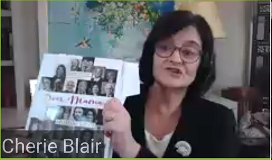 Prabha Khaitan Foundation unveils book Dear Mama by Mohini Kent – Cherie Blair launches book on collection of intimate letters to their mothers by eminent personalities