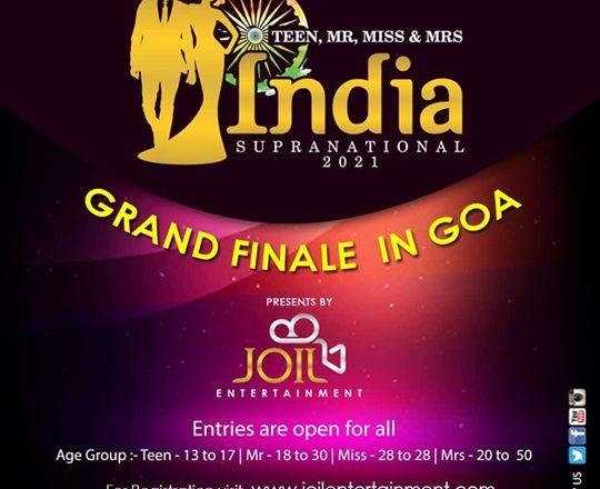 Teen – Mr – Miss – Mrs India Supranational 2021 Season Register Today
