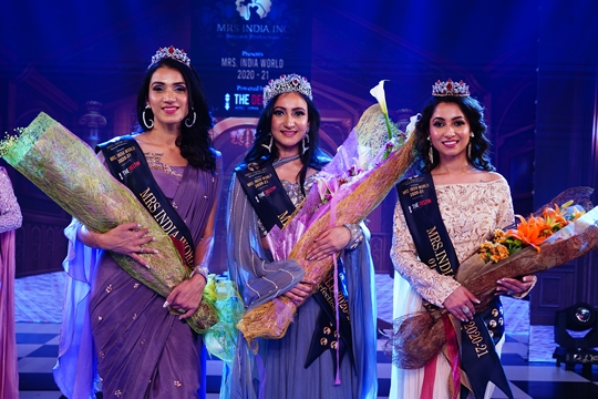 Mrs Navdeep Kaur Emerges As The Winner Of Mrs India Inc. 2020!