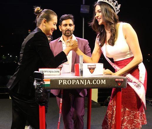 Celebs – Miss India Beauties – Dignitaries Grace Pro-Panja League Tournament At Radio Club  Mumbai