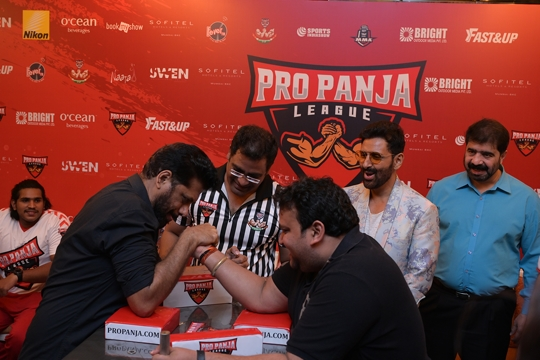 Pro-Panja League India's Only Arm-Wrestling League, at Radio Club Mumbai on Feb 14