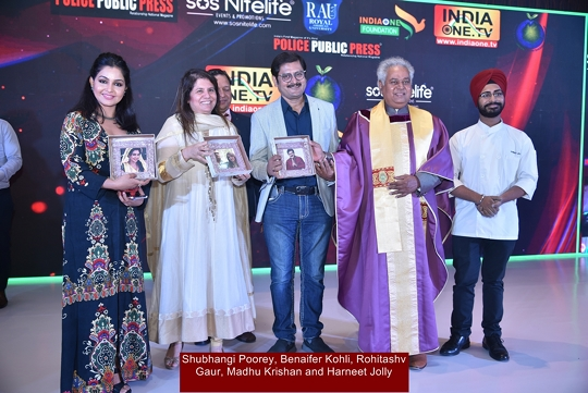 Celebs And Dignitaries Awarded With Make Earth Green Again MEGA Achievers Awards