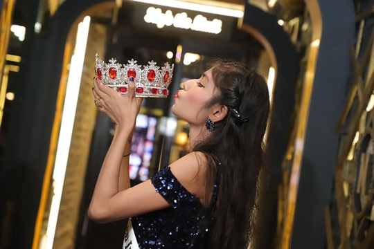 Sneha Winner Of  Miss Teen India Universe 2020  Universal A Virtual Edition Presented By Ashwin Rajput