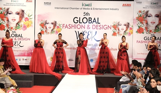Second Day Of 5th Global Fashion And Design Week Brought Many Countries On Ramp