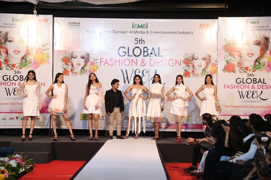 5th Global Fashion And Design Week Started With Pomp And Show